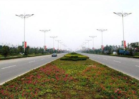 山东省潍坊市北海路改造项目